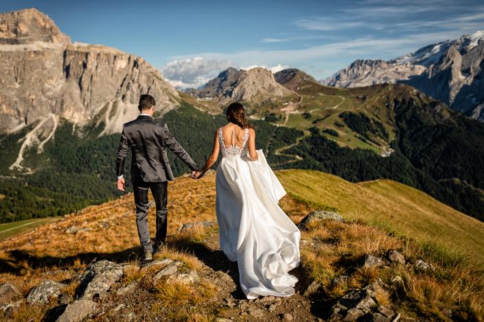 trash the dress al lago di carezza