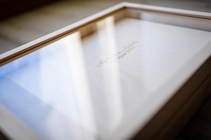 Album matrimonio - box in legno