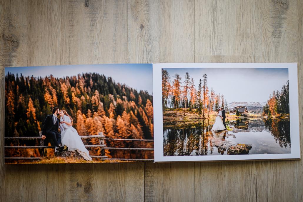album matrimonio - stampa grafica