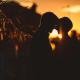 engagement a Burano - sposi al tramonto