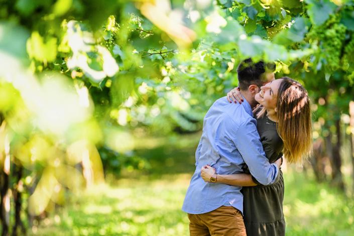 servizio fotografico di coppia a Cologna Veneta