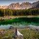 fotografo vicenza - trash the dress al lago di carezza