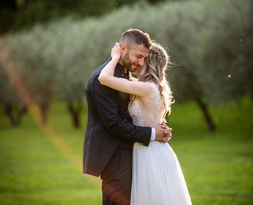 Matrimonio Al Rovere - sposi tra gli ulivi
